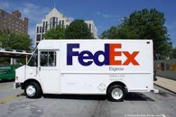Fed-ex truck
